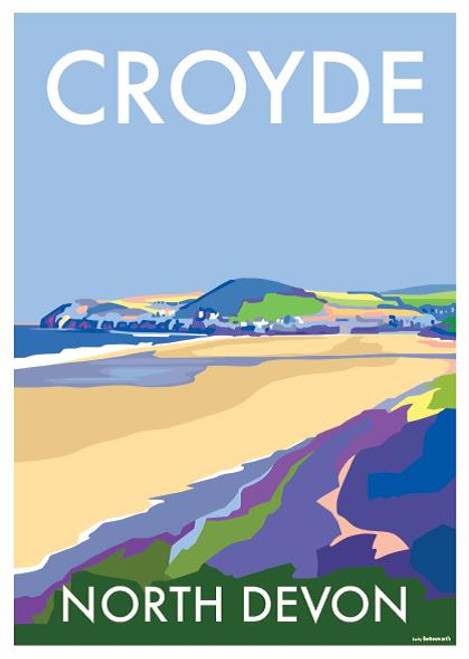 BB78863 - Croyde, North Devon (1 blank card)