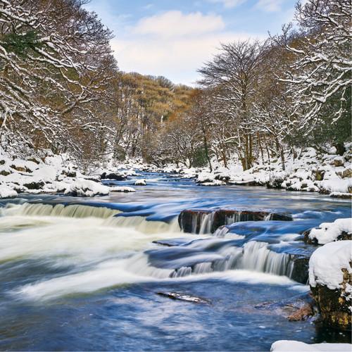 SM14148 - Winter River (1 blank card)