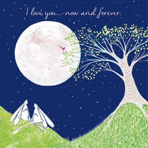 KA82527 - I love you... now and forever (1 blank card)~