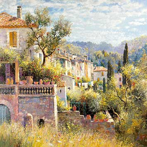 DO66200 - May Morning in Provence (1 blank card)~