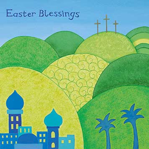 AM32018E - Good Friday (Easter notelet packs of 5 cards)~