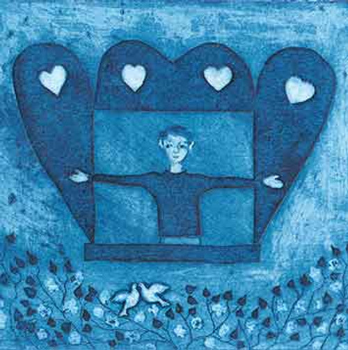 MW61107 - The Window to my Heart (1 blank card)~