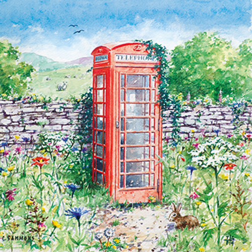 M36018 - A Country Call (1 blank card)~