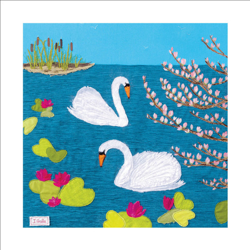 JG88908 - Swan Lake (1 blank card)-