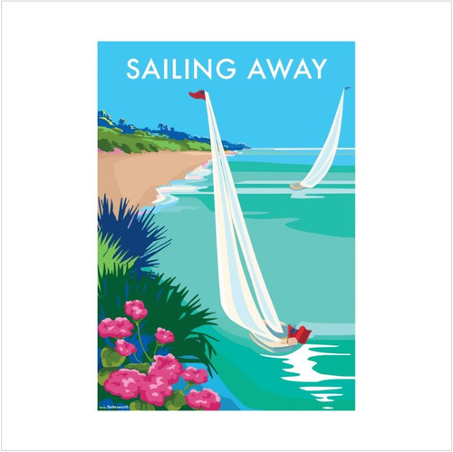 BB78928 - Sailing Away (1 blank card)