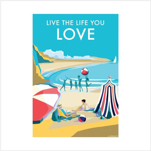 BB78926 - Live the Life you Love (1 blank card)~