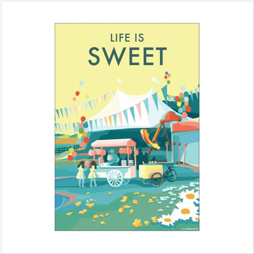 BB78931 - Life is Sweet (1 blank card)-