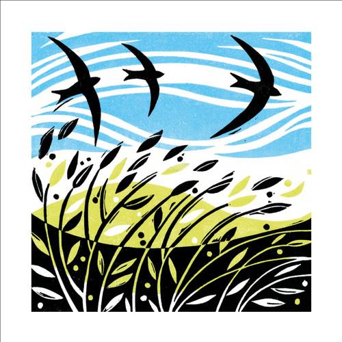 MA86895 - Swooping Swifts (1 blank card)