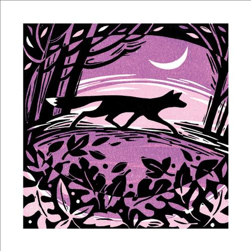 MA86896 - Twilight Fox (1 blank card)