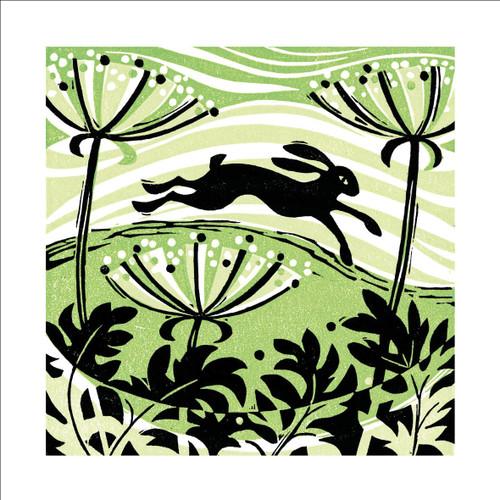 MA86897 - Hillside Hare (1 blank card)