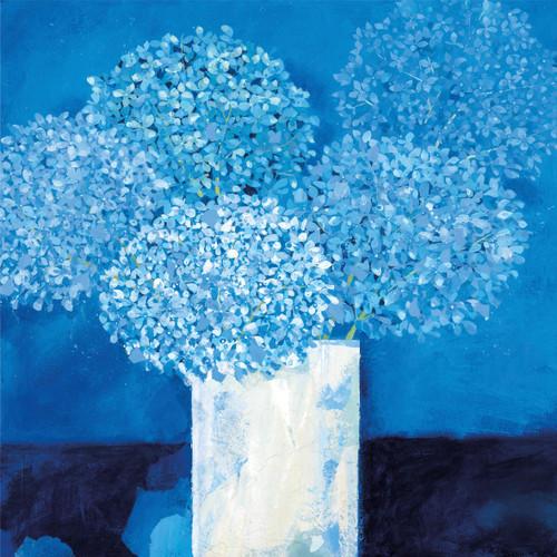 CH33885 - Blue Hydrangeas (1 blank card)
