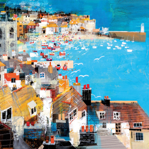 MB79923 - Harbour View, St Ives (1 blank card)