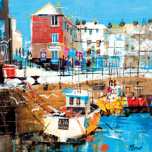 MB79924 - Padstow Harbour, Cornwall (1 blank card)~