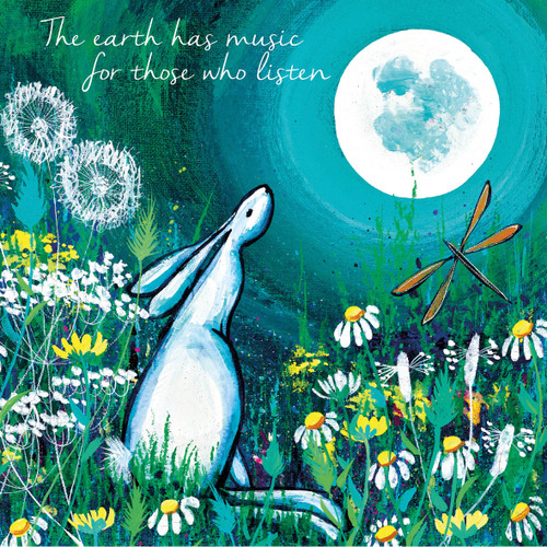 KA82874 - The earth has music for those who listen (1 blank card)