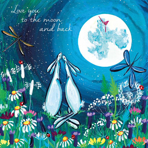 KA82876 - Love you to the moon and back (1 blank card)