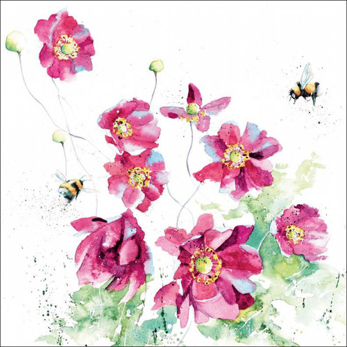 RT84915 - Japanese Anemones (1 blank card)
