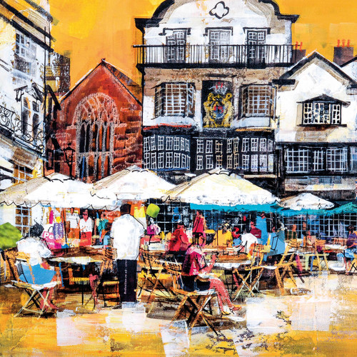 MB79936 - Cafe, Exeter (1 blank card)