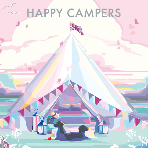 BB78985 - Happy Campers (1 blank card)-