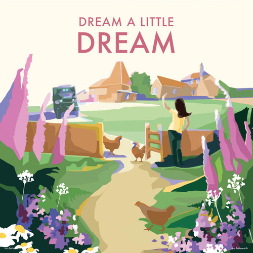 BB78988 - Dream a Little Dream (1 blank card)