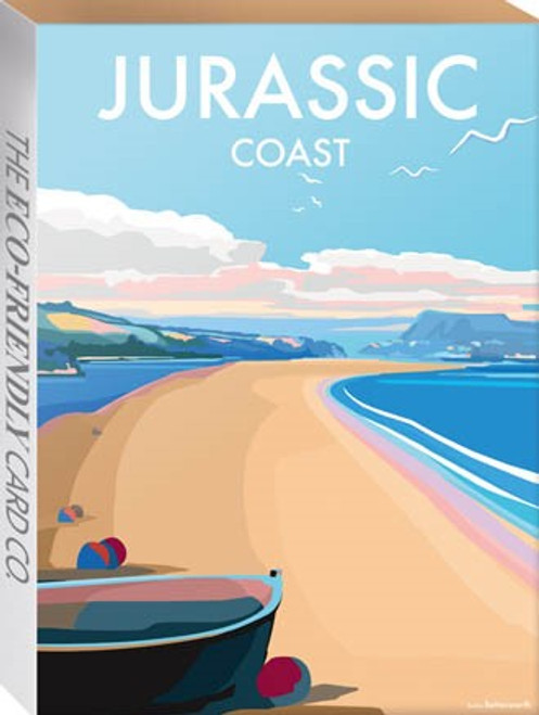 BX78121 - Becky Bettesworth - Jurassic Coast (1 minicard box of 8 cards)