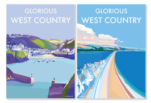 BX78123 - Becky Bettesworth - Glorious West Country (1 minicard box of 8 cards)