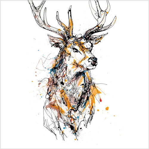 KC93996 - Stag (1 blank card)-