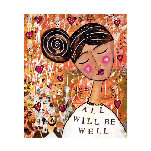 MD89978 - All Will be Well (1 blank card)