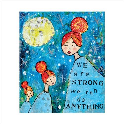 MD89979 - We are Strong (1 blank card)-