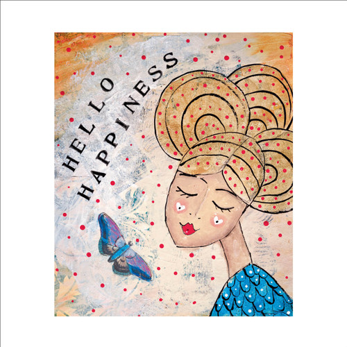 MD89984 - Hello Happiness (1 blank card)-