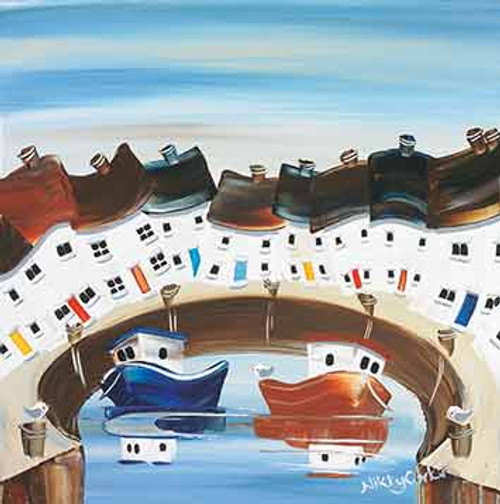 NK65129 - Little Round Harbour (1 blank card)~