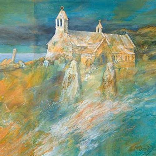 GM69223 - Pembrokeshire Church (1 blank card)~