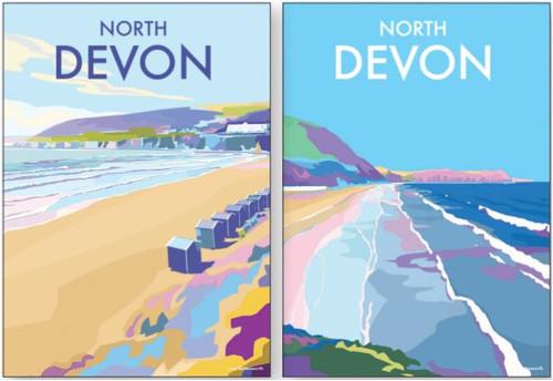 BX78124 - Becky Bettesworth - North Devon (1 minicard box of 8 cards)