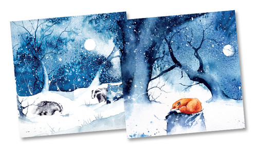 CX84012 - Rachel Toll (1 pack of 10 Christmas cards)~
