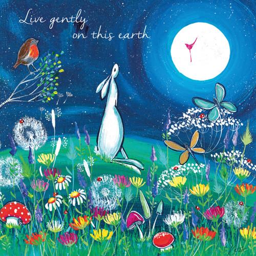 KA82033 - Live gently on this earth (1 blank card)