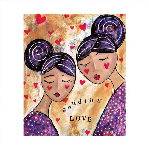 MD89036 - Sending Love (1 blank card)