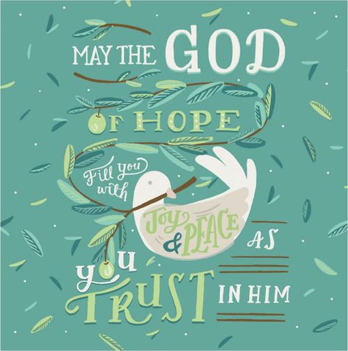 ES83735 - Romans 15:13 (1 blank card)~
