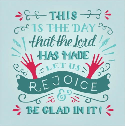 ES83737 - Psalm 118:24 (1 blank card)~