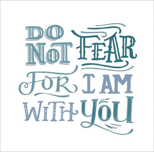 ES83740 - Isaiah 41:10 (1 blank card)~
