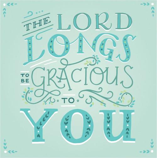 ES83741 - Isaiah 30:18 (1 blank card)~