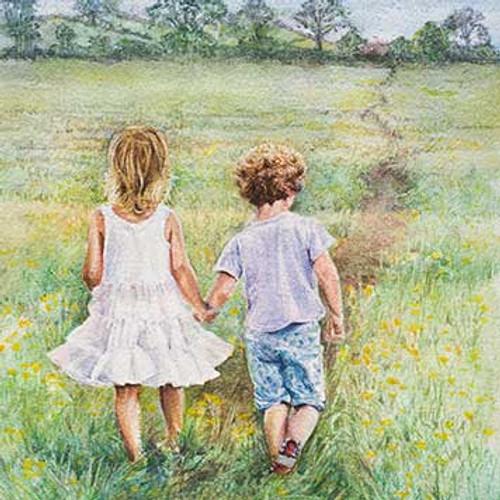 M34011 - Childhood Memories (1 blank card)~