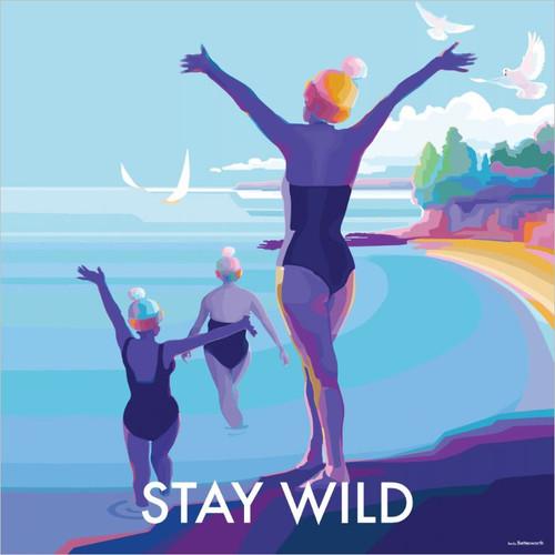 BB78049 - Stay Wild (1 blank card)