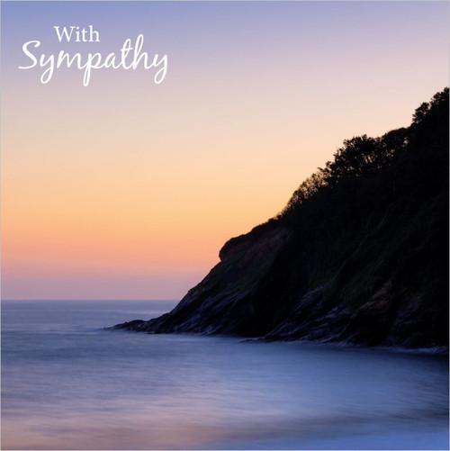 SM14227S - Sunset Tide (1 sympathy card)