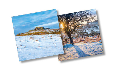 CX14221 - Tors, Dartmoor (1 pack of 10 Christmas cards)