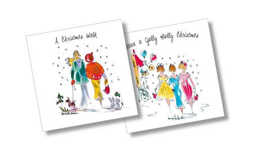 CX39070 - Henrietta Henson (1 pack of 10 Christmas cards)