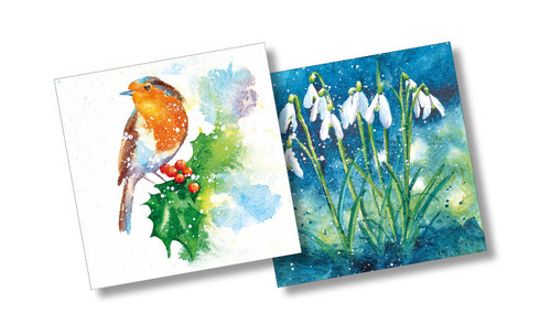CX84067 - Rachel Toll (1 pack of 10 Christmas cards)-