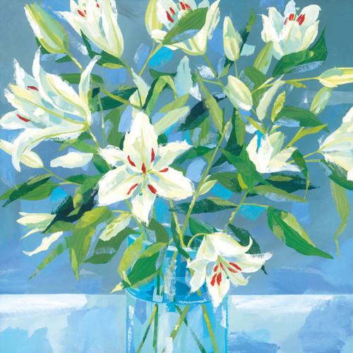 CH33077 - White Lilies (1 blank card)