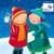 CC90007CH - Carol Singers (1 pack of 8 charity Christmas cards)