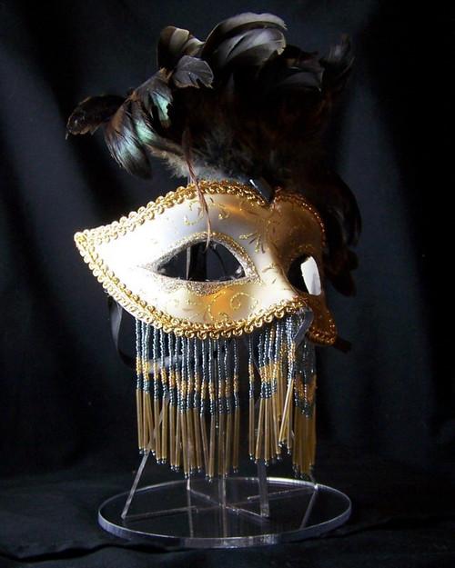 Mardi Gras mask stand