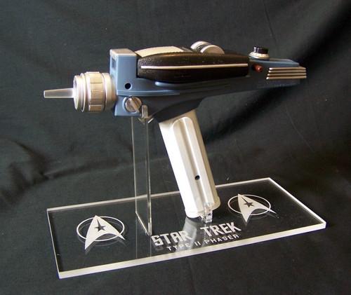 Star Trek Classic Phaser stand