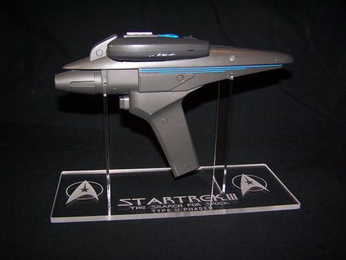 Star Trek III Phaser stand